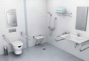 Seguridad baños minusválidos